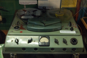 Tape recorder from Fressingfield Studio